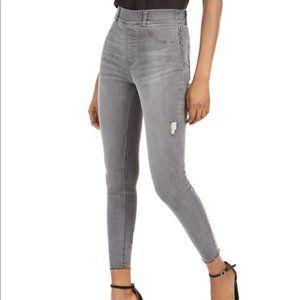 Spanx distressed skinny jeans grey Size XS